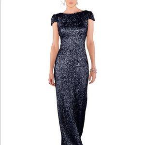 Sorella Vita Navy Sequin Dress - Size 8